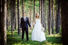forest wedding----image by Maria Hedengren