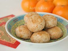 Chinese Peanut Cookies (gluten-free) | Food to gladden the heart at RotiNRice.com