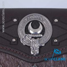 Durie Clan Crest Sporran. Free Worldwide Shipping Available