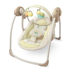 5 Best Baby Swings > InGenuity by Bright Starts Portable Swing Baby Must Haves, Toddler Gifts, Baby Gifts, Portable Baby Swing, Baby Registry Essentials, First Time Parents, Baby Gadgets, Baby Swings, Babies R Us