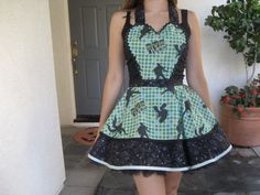 Created by ruffledfrenzy on Etsy.  One of my outfits for Cottage Kisses, market day at The Olde Farmhouse,  June 23rd, 2012, Albion Fairgrounds, Maple Ridge.