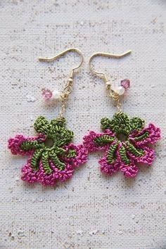 oya crochet earrings by Pearl76
