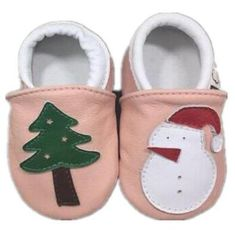 2018 Christmas gift genuine leather baby moccasins shoes Newborn boys and girls  shoes lovely first walkers 1bb2a2d530f6