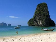 Railay Bay, Thailand~ Where I will be in 3 1/2 months!!! I can't wait!!!!!