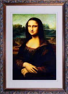 Fine Chinese Suzhou handmade silk embroidery art painting Mona Lisa ($3800)