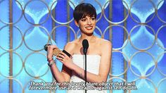 And the Golden Globe award goes to...
