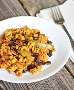 One Pot Wonder Southwest Pasta. I added turkey to this and it was amazing!