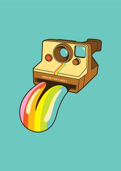 vintage camera pop art