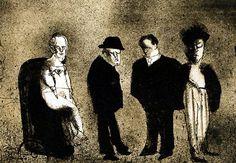 Fallece el artista MejicanoJosé Luis Cuevas gran dibujante y maestro del grabado.