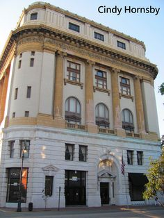 Bull Street Masonic Temple in Savannah, GA. Home to 3 lodges that rotate meeting nights. The bottom level is rented to SCAD, a local art school.