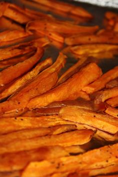 Charm Hour: Baked Sweet Potato Fries