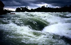 white water rafting the Nile. Jinja, Uganda with adrift -- one of the best times I've ever had