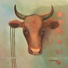 Value Her IV by Sue Hoppe Farm 2, Moose Art, Painting, Animals, Animales, Animaux, Painting Art, Paintings, Animal
