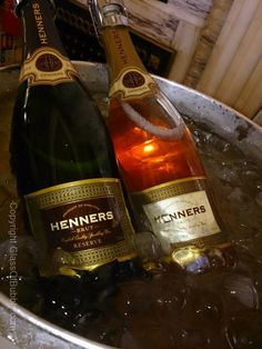English sparkling wine - Henners.