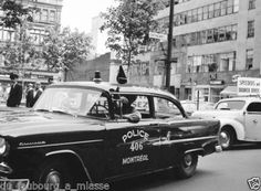 The virtual museum of the American Police Car 1955 Chevy, Virtual Museum, Police Cars, Photo Archive, Car Photos, Vintage Images, Montreal, Dream Cars, Chevrolet