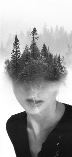 Spanish artist Antonio Mora is a creative photographer who transforms simple portraits into dreamy landscapes filled with intriguing emotion.