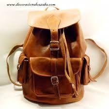 mochilas de couro - Pesquisa Google