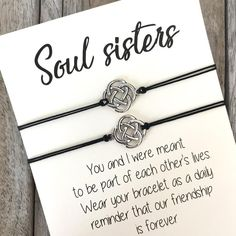 Best friends and couples gifts – Page 2 – Carrie Clover handcrafted friendship jewelry on keepsake quote cards