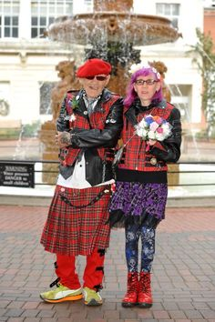 Leicester's oldest punk, 71, gets hitched