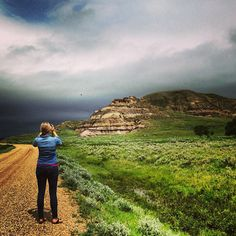 The Big Muddy Badlands are not something one expects to find in southern Saskatchewan…a change in elevation! It's true; the valley is 160 metres deep in some spots. Oh The Places You'll Go, Places Ive Been, Canadian Prairies, O Canada, Beautiful Landscapes, Country Roads, Big, Instagram Posts, Southern
