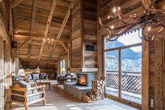 Photograph gallery of the luxury ski chalet, La Grange au Merle, by Clarian Chalets. Includes views over the charming ski resort village of Chatel. Alpine Chalet, Swiss Chalet, Family Ski Holidays, Game Room Kids, Alpine Style, Underfloor Heating, Outdoor Fun, Play Houses, Skiing