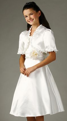 Kid Collection Girls Taffeta Dress