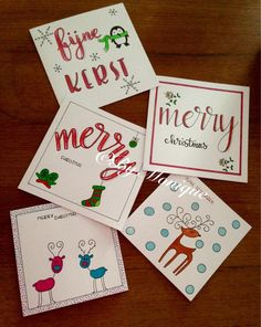 Watercolor Christmas Cards, Diy Christmas Cards, Christmas In July, Xmas Cards, Diy Cards, Handmade Christmas, Holiday Crafts, Doodle, Pencil And Paper