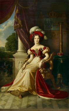 Wilhelmina Frederika Louise Charlotte Marianne of the Netherlands (1810-1883), daughter of Willem I of the Netherlands and his wife Wilhelmine of Prussia. She was married to Albert of Prussia and they had 4 children.