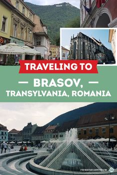 This city offers great views and things to do. Check out the Friends' guide to traveling to Brasov, Transylvania, Romania. Europe Travel Guide, Europe Destinations, Countries Europe, Transylvania Romania, Romania Travel, Romantic Paris, Reisen In Europa, Best Cities, Eastern Europe