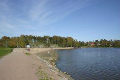 Tuorinniemi Beach for humans, Helsinki