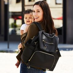 Chelsea Downtown Chic Designer Diaper Backpack | Skip Hop