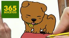 Resultado de imagen para perritos kawaii Kawaii Drawings, Cartoon Drawings, Easy Drawings, Easy Drawing Steps, Step By Step Drawing, 365 Kawaii, Chibi, Drawing For Kids, Scooby Doo