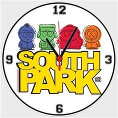 South Park Çocukları Kendin Tasarla - Duvar Saati 27cm
