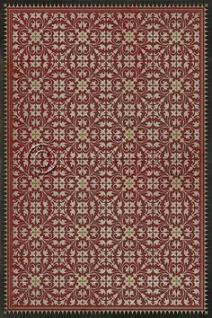 spicher and company vintage vinyl floor cloths the blue mosque