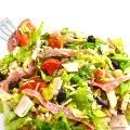 Skinny and Hearty, Antipasto Main Course Salad with Weight Watchers Points | Skinny Kitchen