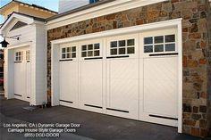 Custom Designed Carriage House Overhead Garage Doors   Los Angeles, CA by Dynamic Garage Door   Los Angeles Custom Garage Doors