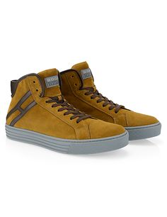 #HOGANREBEL Men's Fall -Winter 2013/14 #collection: suede High-Top #sneakers R206.