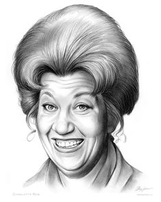 Charlotte Rae (born Charlotte Rae Lubotsky; April 22, 1926) is an American character actress of stage, comedian, singer and dancer whose career spans six decades.  Rae is known for her portrayal of Edna Garrett in the sitcoms Diff'rent Strokes and its spin-off, The Facts of Life (in which she had the starring role from 1979–1986). She received the Primetime Emmy Award nomination for Best Actress in a Comedy in 1982. She also appeared in two Facts of Life television movies: The Fac