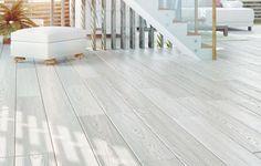 Panele Dąb Naturalny Barwiony Bielony 14x120x1200