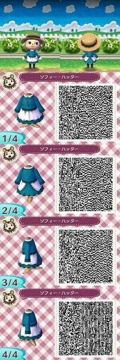 Animal Crossing: New Leaf QR - Sophie Hatter (Howl's Moving Castle)