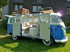 Amazing VW Kombi t2