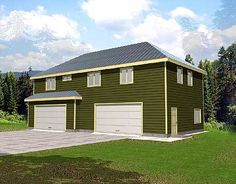 Modern Garage With Apartment Above great garage apartment plan. | cute houses | pinterest | garage