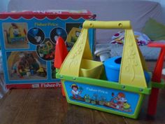 set de jardin fisher price vintage 1982