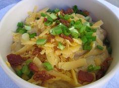 Easy Slow Cooker Potato Soup Recipe