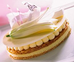 Gâteau Anais anais du chef patissier Benoît Castel