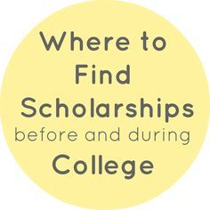 Looking for scholarships for school? Well here are a few places you need to be looking instead