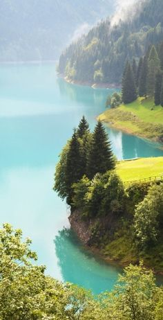 Sauris Lake in northern Italy.