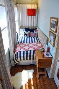 50 Desain Kamar Tidur Kecil Yang Unik Sederhana | Desainrumahnya.com