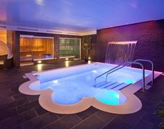 Parc Huron in the River North neighborhood in downtown Chicago is LEED Gold certified. And check out their spa!