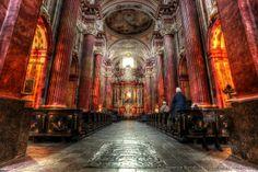 Poznan church interior PPS